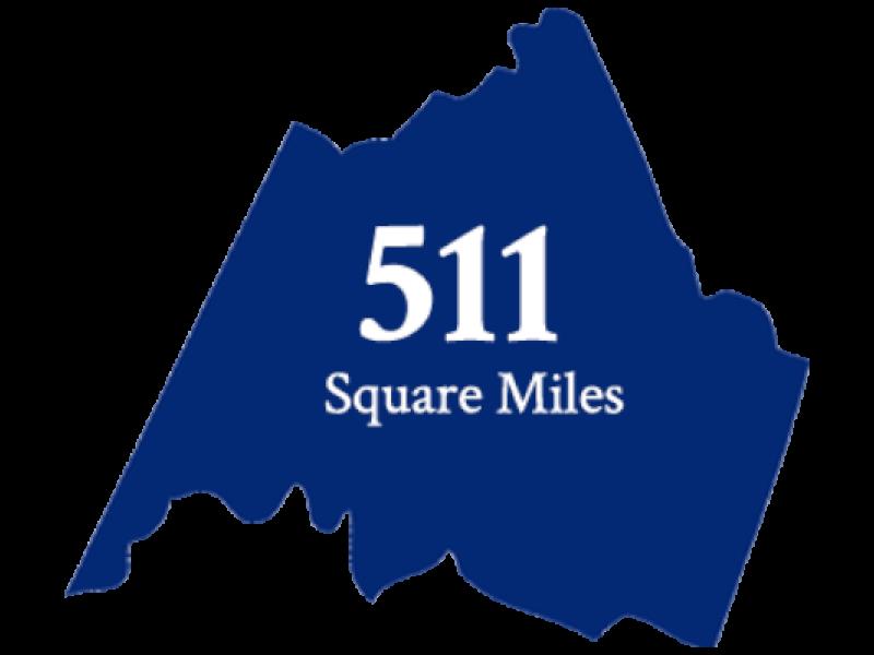 511 Square Miles