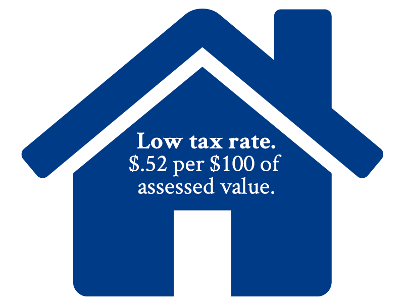 Low tax rate